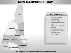 New Hampshire PowerPoint Maps
