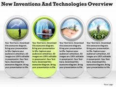 New Inventions And Technologies Overview Business Planning PowerPoint Slides