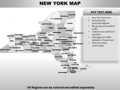 New York PowerPoint Maps