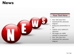 News Bubbles PowerPoint Slides And Ppt Diagram Templates