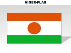Niger Country PowerPoint Flags