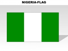 Nigeria Country PowerPoint Flags