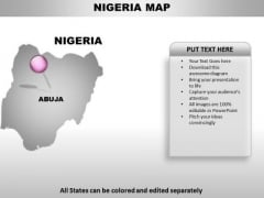 Nigeria Country PowerPoint Maps