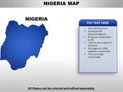 Nigeria PowerPoint Maps