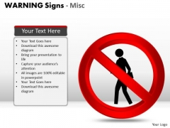 No Warning Signs PowerPoint Slides And Ppt Diagram Templates