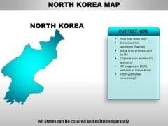 North Korea PowerPoint Maps