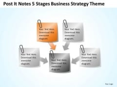 Notes 5 Stages Total Marketing Concepts Theme Ppt Business Plan For PowerPoint Slides