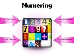 Numbering Education PowerPoint Presentation Slides S