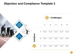 Objection And Compliance Template 2 Ppt PowerPoint Presentation Inspiration Images