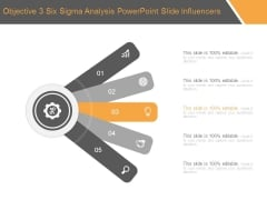 Objective 3 Six Sigma Analysis Powerpoint Slide Influencers