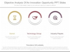 Objective Analysis Of An Innovation Opportunity Ppt Slides