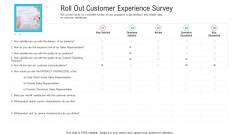 Objective To Improve Customer Experience Roll Out Customer Experience Survey Rules PDF