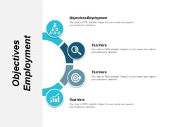 Objectives Employment Ppt PowerPoint Presentation Gallery Backgrounds