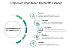 Objectives Importance Corporate Finance Ppt PowerPoint Presentation File Maker Cpb