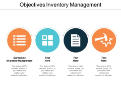 Objectives Inventory Management Ppt PowerPoint Presentation Slides Graphic Images Cpb