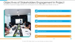 Objectives Of Stakeholders Engagement In Project Introduction PDF