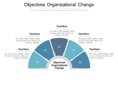 Objectives Organizational Change Ppt PowerPoint Presentation Professional Templates Cpb