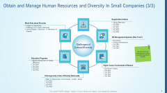 Obtain And Manage Human Resources And Diversity In Small Companies Growth Summary PDF