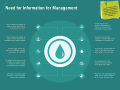 Ocean Water Supervision Need For Information For Management Template PDF