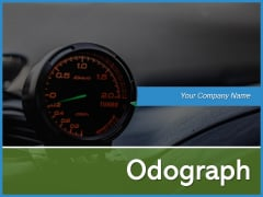 Odograph Scrolling Meter Speed Ppt PowerPoint Presentation Complete Deck