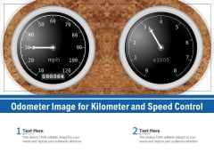 Odometer Image For Kilometer And Speed Control Ppt PowerPoint Presentation Ideas Deck PDF