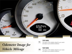 Odometer Image For Vehicle Mileage Ppt PowerPoint Presentation Ideas Guide PDF