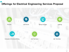 Offerings For Electrical Engineering Services Proposal Ppt Layouts Maker PDF