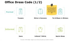 Office Dress Code Planning Ppt PowerPoint Presentation Gallery Visuals