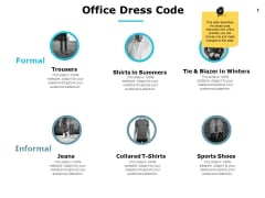 Office Dress Code Ppt PowerPoint Presentation Layouts Example