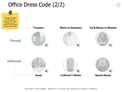 Office Dress Code Strategy Ppt PowerPoint Presentation Layouts Graphics Example