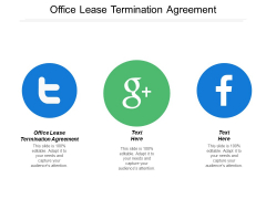 Office Lease Termination Agreement Ppt PowerPoint Presentation Portfolio Graphics Pictures Cpb