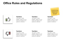 Office Rules And Regulations Ppt PowerPoint Presentation Slide Download