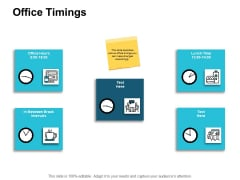 Office Timings Management Ppt PowerPoint Presentation Model