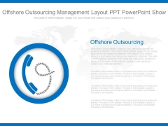 Offshore Outsourcing Management Layout Ppt Powerpoint Show