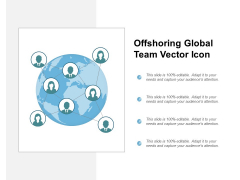 Offshoring Global Team Vector Icon Ppt PowerPoint Presentation Gallery Structure