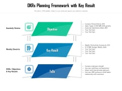 Okrs Planning Framework With Key Result Ppt PowerPoint Presentation File Templates PDF