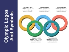 Olympic Logos And Symbols Ppt PowerPoint Presentation Infographic Template Model