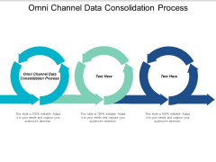 Omni Channel Data Consolidation Process Ppt PowerPoint Presentation Gallery Graphics Design Cpb