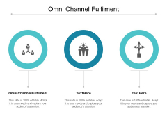 Omni Channel Fulfilment Ppt PowerPoint Presentation Outline Gallery Cpb
