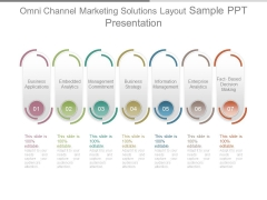 Omni Channel Marketing Solutions Layout Sample Ppt Presentation