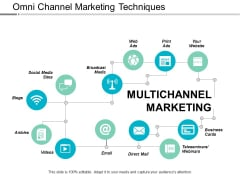 Omni Channel Marketing Techniques Ppt PowerPoint Presentation Layouts Styles