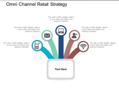 Omni Channel Retail Strategy Ppt PowerPoint Presentation Professional Information