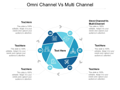 Omni Channel Vs Multi Channel Ppt PowerPoint Presentation Infographic Template Aids Cpb