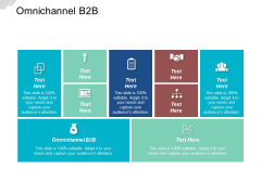 Omnichannel B2B Ppt PowerPoint Presentation File Design Inspiration Cpb