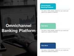 Omnichannel Banking Platform Ppt PowerPoint Presentation Icon Grid Cpb