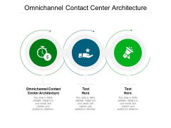 Omnichannel Contact Center Architecture Ppt PowerPoint Presentation Pictures Summary Cpb Pdf