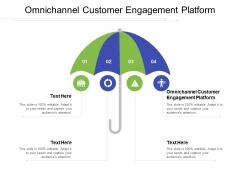 Omnichannel Customer Engagement Platform Ppt PowerPoint Presentation Summary Slideshow Cpb Pdf