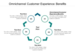 Omnichannel Customer Experience Benefits Ppt PowerPoint Presentation Model Clipart Cpb
