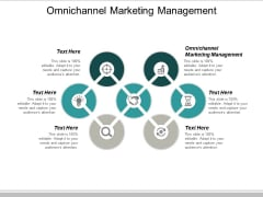Omnichannel Marketing Management Ppt PowerPoint Presentation Summary Example Cpb
