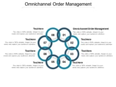 Omnichannel Order Management Ppt PowerPoint Presentation Professional Smartart Cpb